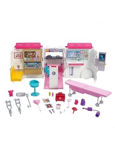 Barbie Barbienin Ambulansı FRM19 Renkli